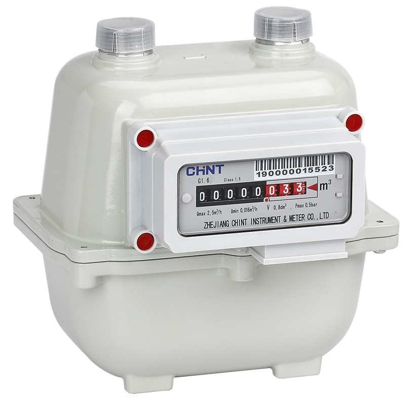 G1.6, G2.5 Small Diaphragm Gas Meter (Aluminum)