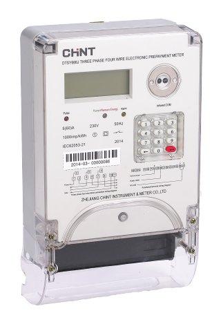 DTSY666J Three Phase Keypad Meter