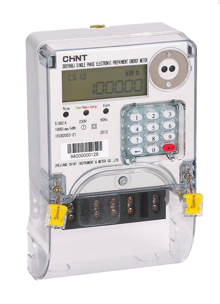 DDSY666J Single Phase Keypad Meter