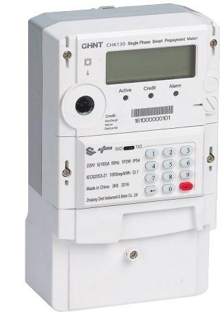 CHK130 Single Phase Smart Keypad Meter DDZY666