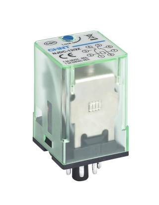 NJDC-12 Small Electromagnetic Relay with Test Button