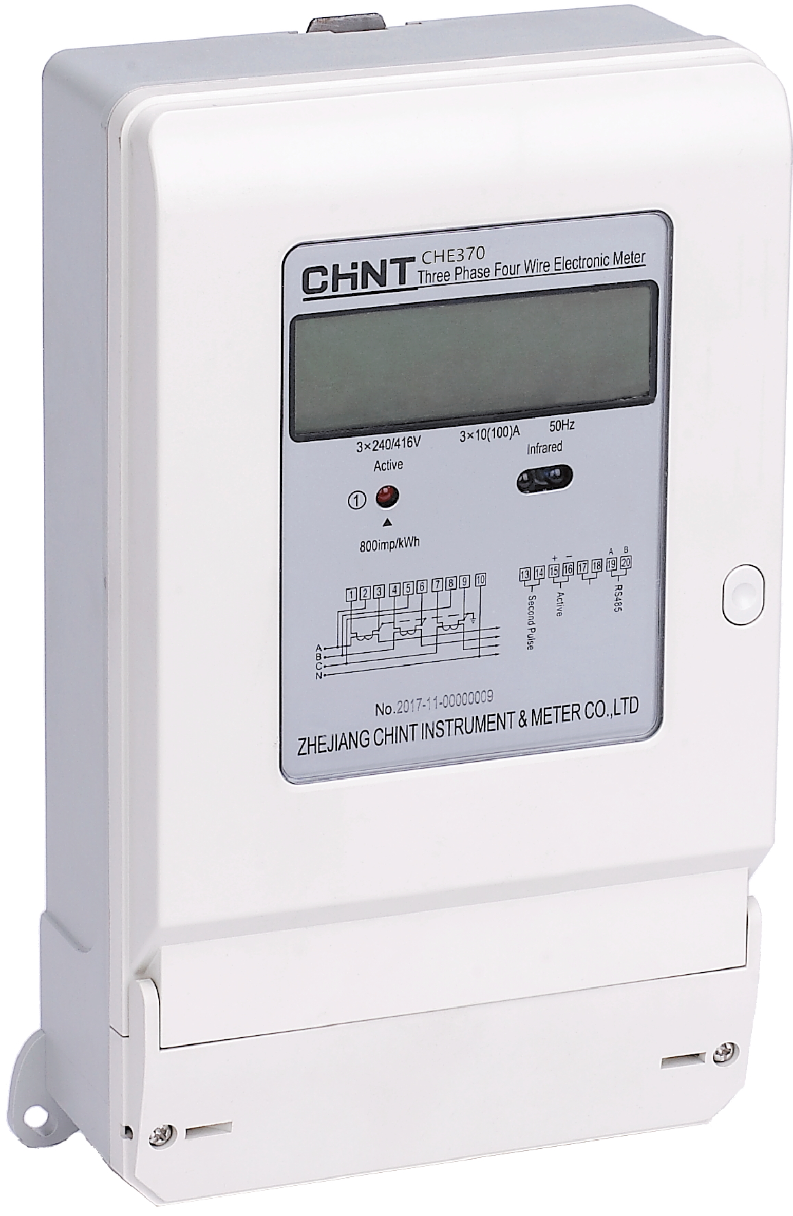 CHE370 Three Phase Electronic Meter