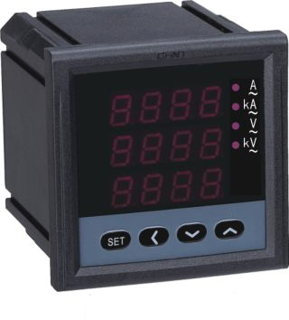 PN666-□ series three phase digital current and voltage combined meter