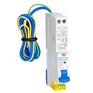 NB3LEU Residual Current Operated Circuit Breaker with Over-current Protection(Electronic)