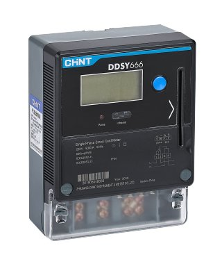 DDSY666 Single Phase Smart Card Meter
