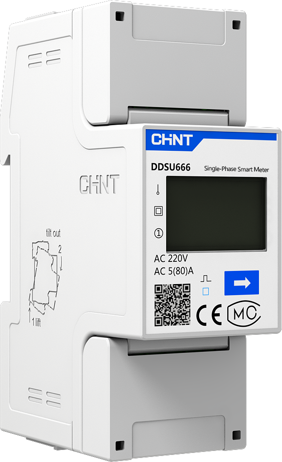 DDSU666 Single Phase DIN-Rail Meter
