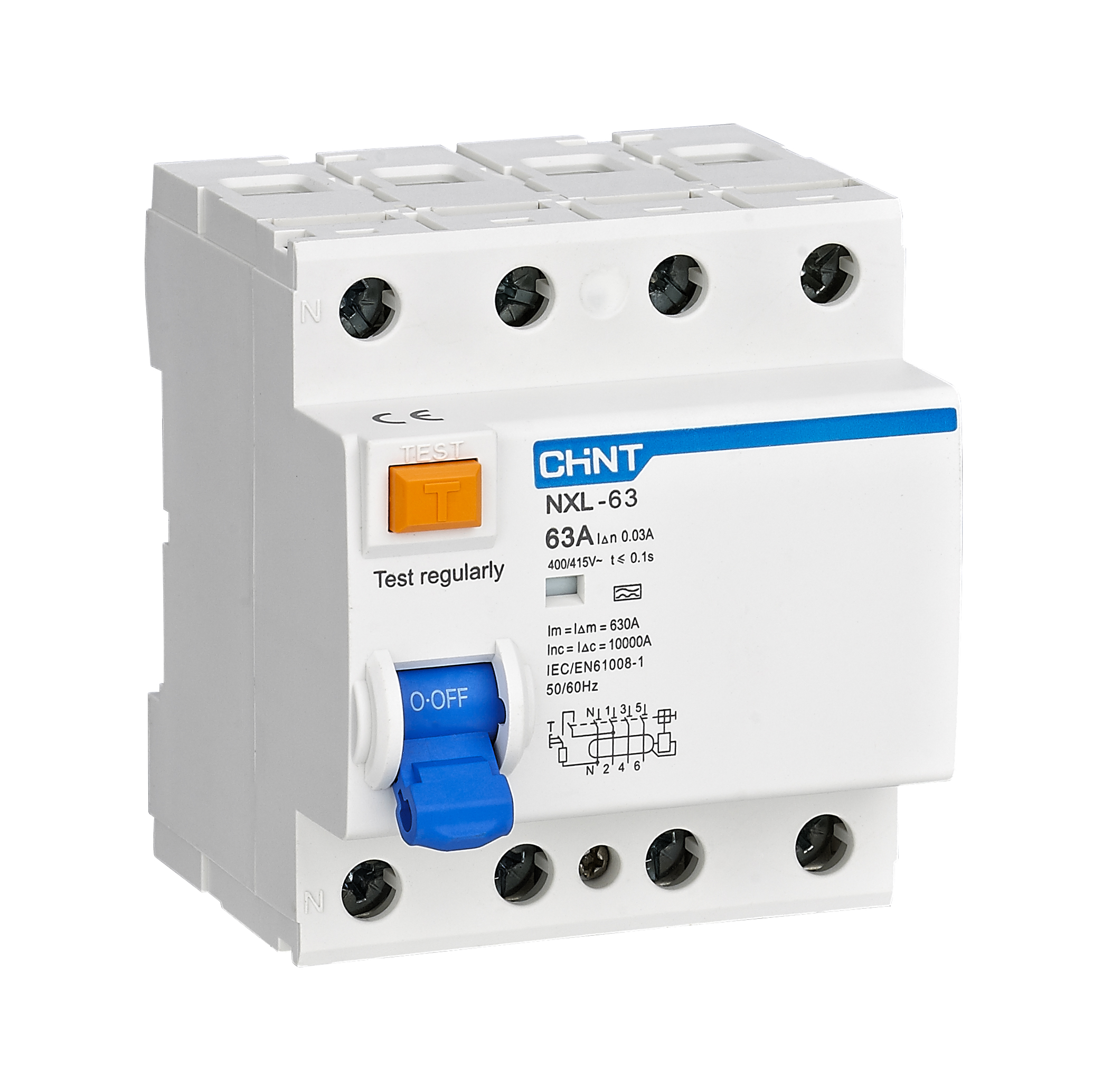 NXL-63 Residual Current Operated Circuit Breaker