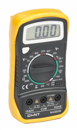 NAS830B, NAS838 series portable digital multi-meter