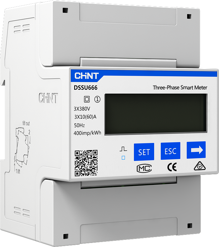 DTSU666 Three Phase DIN-Rail Meter