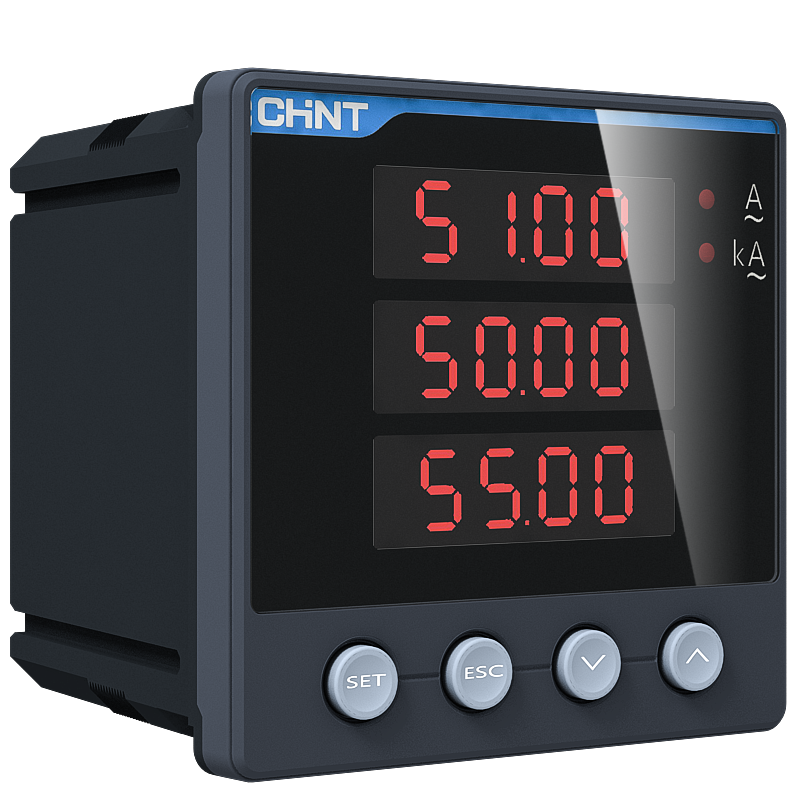 PA/PZ666-□ series Three Phase Digital Ammeter/Voltmeter