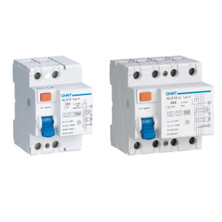 NL210 Residual Current  Operated Circuit Breaker  without Over-current Protection