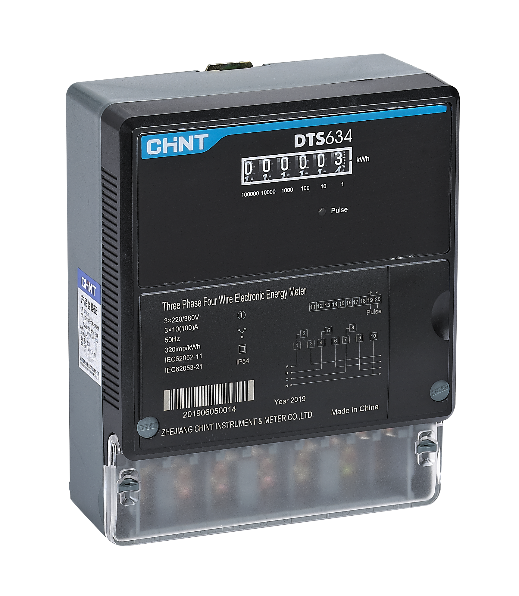 DTS634 Three Phase Electronic Meter