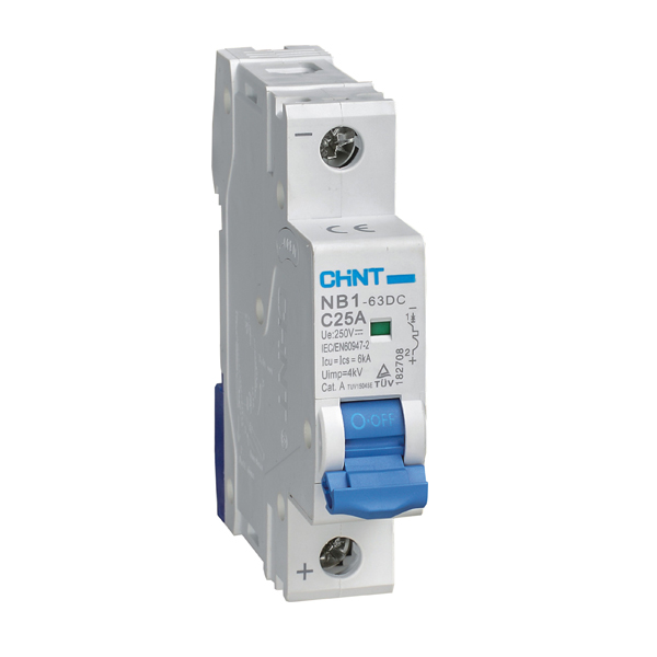 NB1-63DC DC Miniature Circuit Breaker