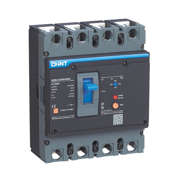 NXMLE Series Residual Current Circuit Breaker