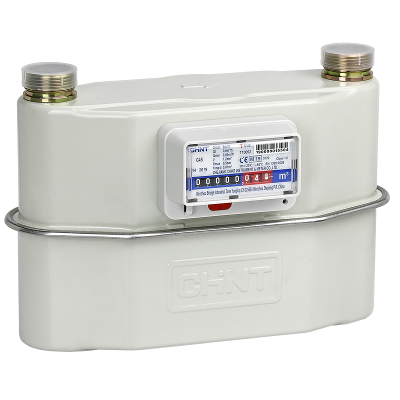 G1.6S, G2.5S, G4S Wide Center Distance Diaphragm Gas Meter (Steel)