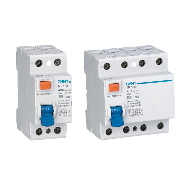 NL1 Residual Current Operated Circuit Breaker without Over-current Protection (Magnetic)
