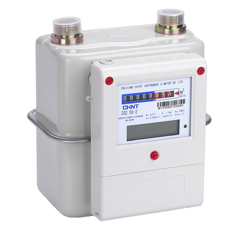 ZG1.6S-2, ZG2.5S-2, ZG4S-2 (Steel) Wireless remote diaphragm gas meter