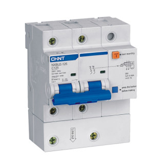 NXBLE-125 Residual Current 0perated Circuit  Breaker (RCBO)