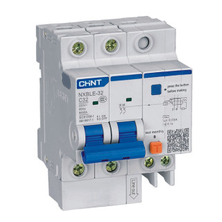 NXBLE-32 Residual Current Operated Circuit  Breaker (RCBO)