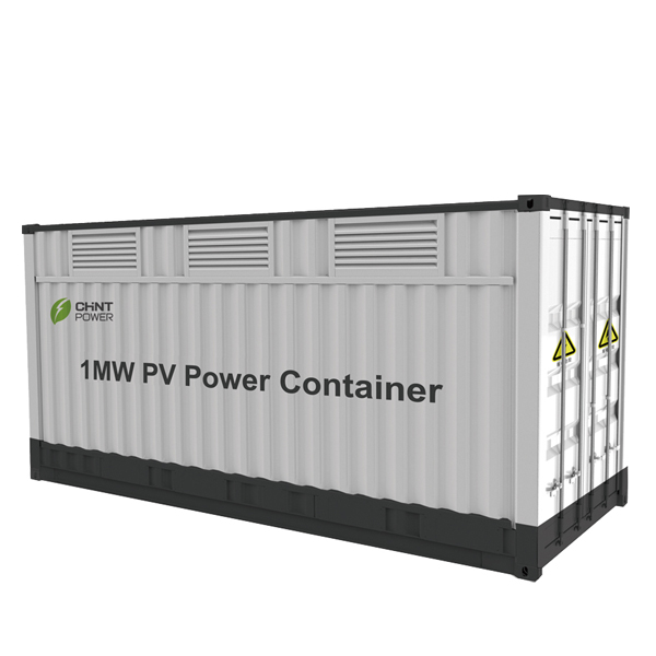 1MW Integrated PV Power Container