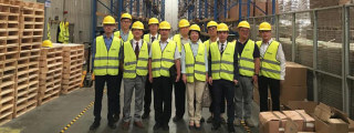 Chinese Counselor in Egypt Wang Yi Visiting CHINT Factory in Egypt