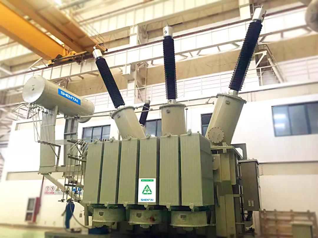First ever in China, CHINT's 220kV vegetables oil transformer