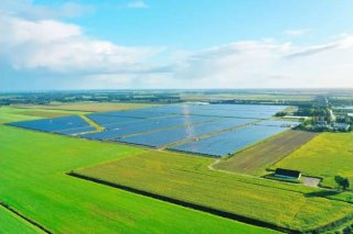 CHINT 103MW Solar Park: the largest one in the Netherlands