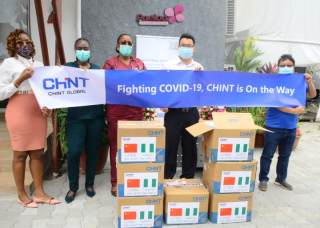 Through thick and thin: CHINT donated masks to Nigeria